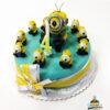Dorty pro děti - dětské dorty - Mimoni 3D