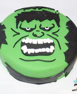 Dorty pro děti - dětské dorty - Hulk 2D