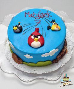 Dorty pro děti - dětské dorty - Angry Birds 2D