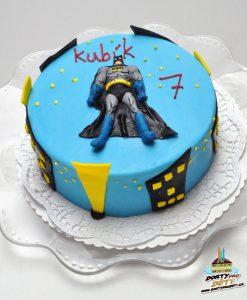 Dorty pro děti - dětské dorty - Batman ve městě 2D