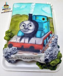 Dorty pro děti - dětské dorty - Mašinka Tomáš Airbrush