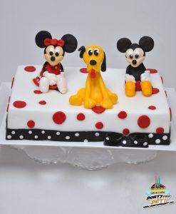 Dorty pro děti - dětské dorty - Mickey, Minnie a Pluto