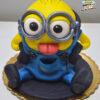 Dorty pro děti - dětské dorty - Sedící mimoň 3D
