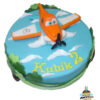 Dorty pro děti - dětské dorty - Letadla - Prášek v oblacích