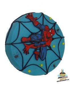 Dorty pro děti - dětské dorty - Spiderman na síti 2D