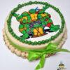 Dorty pro děti - dětské dorty - Želvy Ninja (jedlý papír)