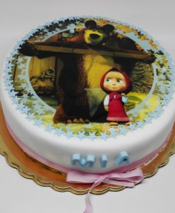 Dorty pro děti - Máša a medvěd - jedlý papír