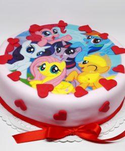 Dorty pro děti - My Little Pony - jedlý papír
