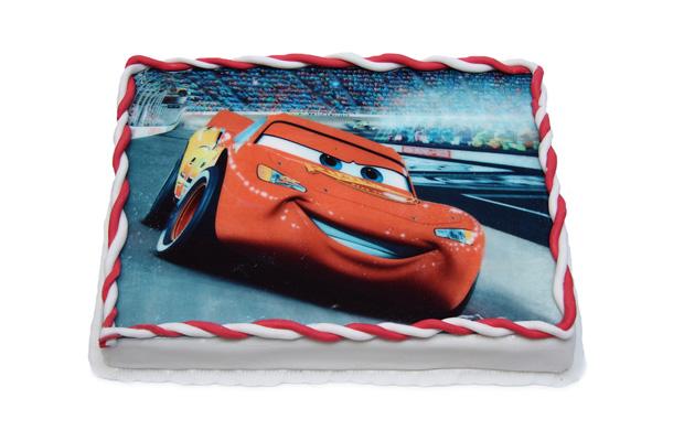 Dort s jedlým papírem - fotografie - dětské dorty