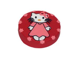 Dort pro děti s motivem Hello Kitty potažený marcipánem