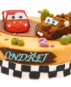 Dětské dorty - Blesk a Burák
