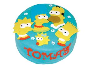Dětské dorty - Simpsonovi